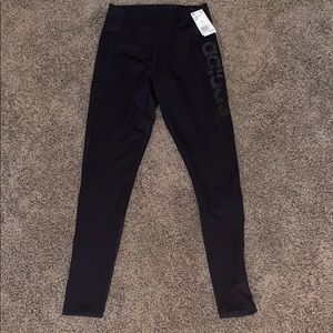 Adidas full length leggings, size m